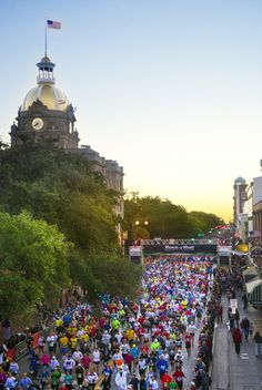 Click this pin for a list of Savannah's top running trails and running events!