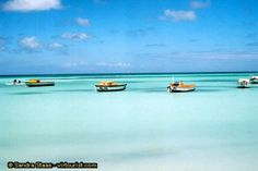 Aruba.  The water there really is this color.  Best island in the caribbean.