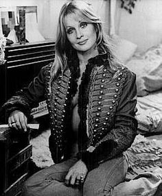 #Sixties | Anouska Hempel, Lady Weinberg, New Zealand film and television actress turned hotelier and interior designer