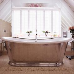 If you desire to purchase modern and unique #Freestanding_Bathtub for your bathroom, contact at Thewoodenbathroom.com.