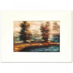 Elya DeChino Signed Original Painting on Paper 1/1 (PA LOA) at Pristine Auction
