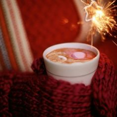 """Mittens, Marshmallows and Fireworks - Late last year I had a most unusual dream.  When I woke up I told Sledge """"I didn't understand it at all.  I told him we were in  a large crowd, all bundled up against the cold and we were watching fireworks.  When would people ever wear coats and scarves to watch fireworks?""""  He smiled and said """"November 5th, we do our fireworks on Guy Fawkes Bonfire Night.""""  Then he said it was creepy that my dream was so accurate. :)"""