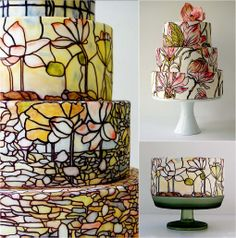 Cake Artist Shinmin Li : 1000+ images about Cake on Pinterest Stained glass ...