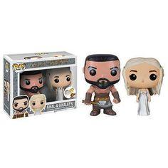 Funko Pop! Khal Drogo & Khaleesi Wedding, Think Geek Exclusive, Game of Thrones, GOT, Funkomania, Séries
