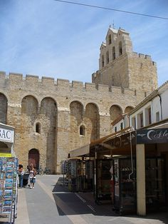 Saintes Maries de la Mer, the south of France