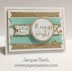 Great card layout; just use center banner and round sentiment