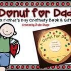A Donut for Dad {A Father's Day Book Craftivity & Gift} - Julie Shope