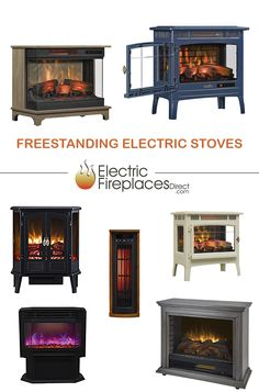 Provide soothing, supplemental, portable heat to the rooms you use most and save money on your overall heating bill. Shop the selection at www.ElectricFireplacesDirect.com