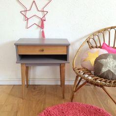 Albertine, la table de nuit, chevet, des années 60  par Chouette Fabrique