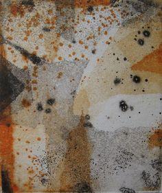 printmaking hand pulled print Beyond by SabinaSH on Etsy, $44.00