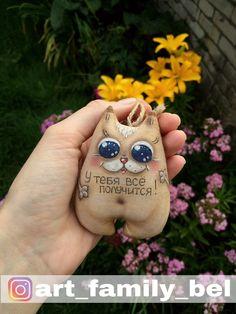 Кофейная-ароматизированная игрушка-кофейный кот-кофейничек-чердачная игрушка-подарок-своими руками-hand made
