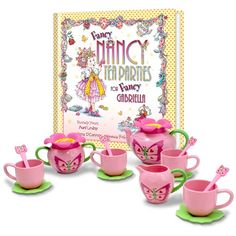 FANCY NANCY COMPLETE TEA PARTY GIFT SET - if I am lucky to have a little girl, I'm definitely getting her this!