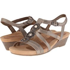 2c9298fa6802 ALSO IN BLACK Rockport Cobb Hill Collection Cobb Hill Hannah Pewter Sandals
