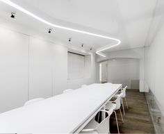 Volta appliance: light becomes a winding belt  moving into  space, an unmistakable sign with a contemporary image