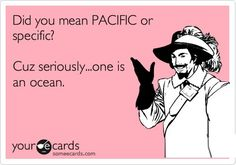 To be Pacific..