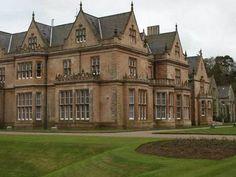 Bangor Castle is in Bangor, County Down, Northern Ireland.