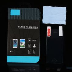 9H Thin Clear Tempered Glass Front Screen Protector Case For iphone4 4S 4G i4 Reinforced Film + Retail Box for Apple iphone 4