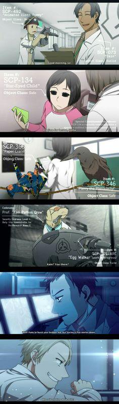 SCP anime?!