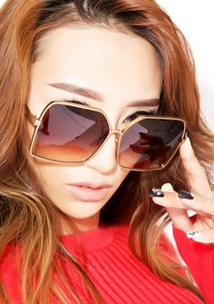 WILDFOX Fontaine Sunglasses - Antique Gold