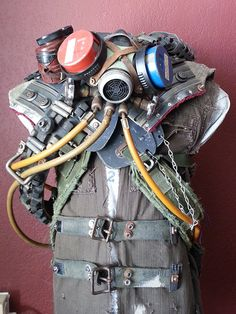 Post Apocalyptic Clothing, Post Apocalyptic Costume, Mad Max Costume, Wasteland Warrior, Apocalypse Gear, Dystopia Rising, Steampunk Accessories, Steel Sculpture, Classic Monsters