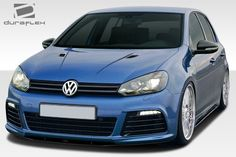 2010-2014 Volkswagen Golf R Duraflex RV-S Body Kit - 8 Piece