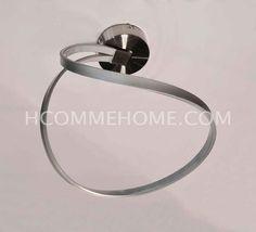 Luminaire suspension design en nickel TWIST, Luminaires design - Suspensions - HcommeHome