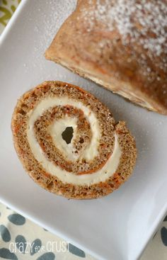Carrot cake roll #recipe