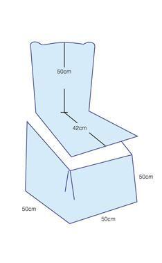 Hoes stoel maken en stoel versieren - Hobby.blogo.nl