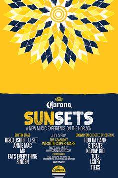 #sunsets #corona #festival #coronasunsets #poster #visualbrandidentity #typography #font #identity #edm #nachtlab #sfx #artdirection #handmade #painted #ourmachine