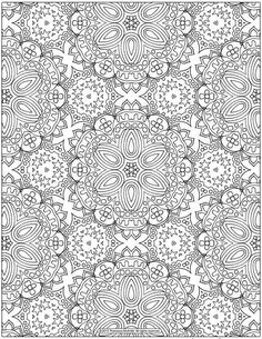 Flower butterfly abstract doodle zentangle coloring pages colouring adult detailed advanced - Coloriage pour adulte anti stress a imprimer ...