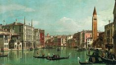 Grand Canal Venice, Beyond The Horizon, Italy Painting, Fine Art Prints, Canvas Prints, Eternal Sunshine, Classic Image, Museum Of Fine Arts, Heritage Image