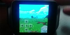 Minecraft on Android Wear?  HELL YEAH!