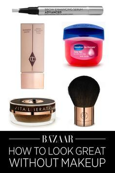 Find out how to look amazing without any makeup: Save this article for later by pinning this image, and follow Harper's Bazaar on Pinterest for more.