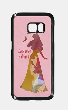 Sleeping Beauty Aurora Princess Phone Case For Samsung Galaxy S7 case, B0003-2