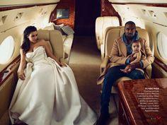 Kim y Kanye Vogue April Issue