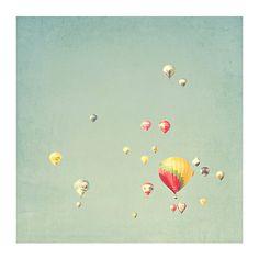 hot air balloon photograph original fine art photography by nelou