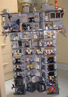 Huge Star Wars Minifig LEGO Base