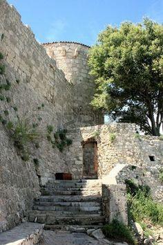 fortress near sea in Krk, Croatia