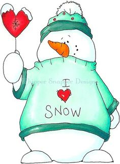 snowman/he would be cute painted and given as a gift!