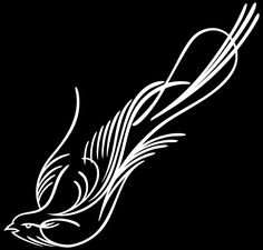 Vinyl Pinstripe Pinstriping Decal Sticker Graphic Birds