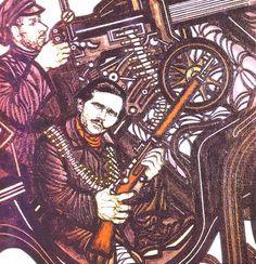 Nestor Makhno ; Ukranian revolutionary