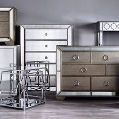 style tip looking to add depth and elegance to your space mirrored furniture is added drama mirrored bedroom furniture