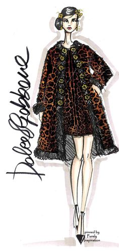 Dolce & Gabbana Fashion Illustration | Purely Inspiration