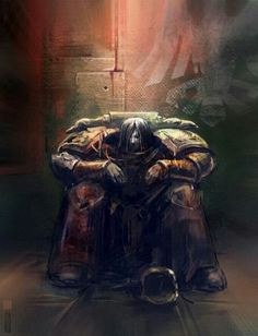 A minute of grief. Raven Guard