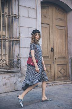 cuadros_vichy-vestido_Zara-Gucci_Slipper_Princetown-chanel-bag-street_style-8