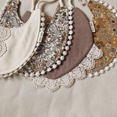 We make baby bibs that are drool worthy for your stylish baby. These bibs are carefully handmade by our local seamstresses in the Pacific Northwest. Baby Baby Baby Oh, Baby Love, Couture, Billy Bibs, Bandanas, Diy Baby Gifts, Stylish Baby, Baby Girl Fashion, Handmade Baby