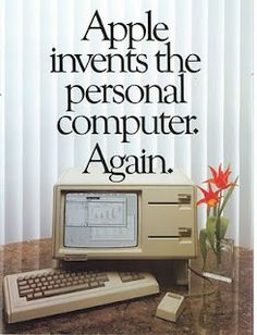 """Les pubs Apple ont bien changé ! Les ordinateurs aussi mais les phrases """"choc"""" restent d'actualité !"""