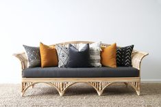 Queenslander Daybed | Naturally Cane Rattan and Wicker Furniture