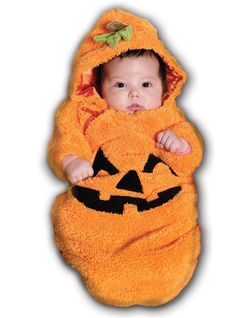 Pumpkin Bunting Infant Costume from BuyCostumes.com