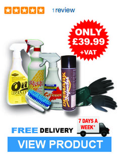 Keep your home and work premises clean and tidy with this handy cleaning kit